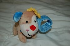 2012 Fisher Price Lamb Wrist built in Rattle crinkle 95741 Baby puppy dog