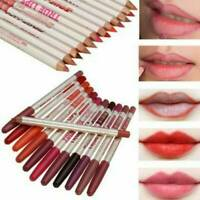 New 6pcs True Makeup Lips Lip Liner Pencil Lady Cosmetic Eyeliner Lipliners Set