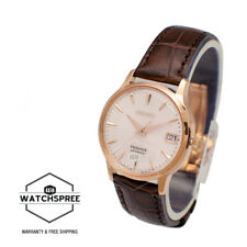 Seiko SRP852 SRP852J1 PRESAGE Cocktail Automatic Rose Gold WR100m Ladies Watch