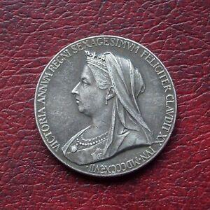 Victoria 1897 silver diamond jubilee medal