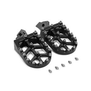 CNC Foot Pegs Pedals Rests Footpegs Honda XR50R XR70R CRF100F Kawasaki KL/KLR650