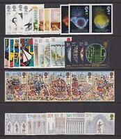 GB 1989 Commemorative Stamps, Year Set~Unmounted Mint~UK Seller