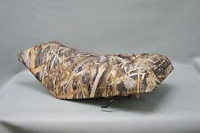 HONDA TRX350 Seat Cover 2000 - 2006 in FLOODED TIMBER or 7 CAMO OPTIONS (ST)