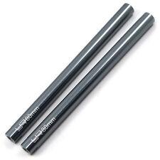 Yeah Racing Gunmetal 6 X 80mm Threaded Aluminum Crawler Link Pipe - 2pcs YA-0437
