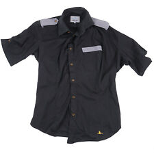 Vivienne Westwood Man Asymmetrical Twisted-Seam Color Block Shirt L (III)