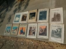 Lot of 11 Vintage Issues Scientific American Magazine Early 1900s News Ads Photo