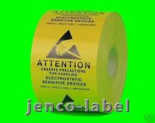 AS22101, 500 2x2 Electrostatic Sensitive Devices Labels