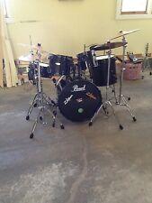9 piece Pearl Drum Set