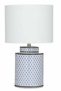 Society Home SH Leila Table Lamp For for Living Room Study Room Bedroom - Blue