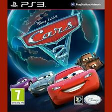 CARS 2 PlayStation 3 PS3 ~ Italian cover - Game in English - NEW Re-Sealed