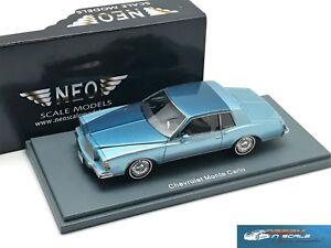 Chevrolet Monte Carlo Blue Metallic 1978  NEO44790