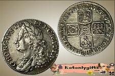 GB. - George II Shilling 1758 ....  gVF/aEF