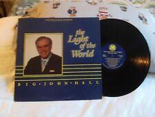 BIG JOHN HALL .. THE LIGHT OF THE WORLD .. JHR LP 1986