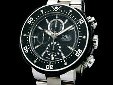 ORIS Pro Diver Chronograph 01 674 7630 7154-Set Auto Men's Watch(S A50176)