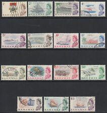 Bahamas, Sc 252-266 (SG 295-309), used