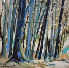 Original Woods  Landscape Acrylic Painting JMW art John Williams Realism