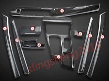 9PCS Carbon Fiber Car Interior kit Cove For BMW 5 Series F10 F18 520 525 528 535