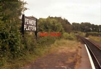 PHOTO  1978 PENMERE PLATFORM ON THE OUTSKIRTS OF FALMOUTH A WAYSIDE 'HALT' ON TH