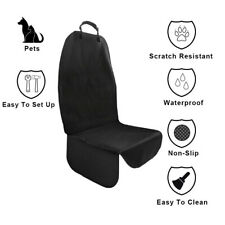 Car Front Seat Cover for Dog Pet 100% Waterproof Nonslip Protector Side Flap
