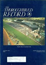 1983 Thoroughbred Record Magazine: South Africa's Gosforth Park/Lee Eaton