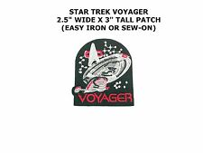 Star Trek Voyager TV Series Ship and Name Logo Embroidered Patch NEW UNUSED