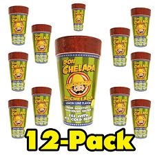 CASE PACK LOT OF 12 - DON CHELADA MICHELADA, LEMON LIME CUPS
