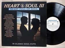 Heart & Soul III UK LP Michael Jackson Al Green Smokey Robinson 1990 EX/VG+