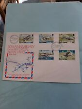 COVER FDC ISLE OF MAN 50TH ANNIVERSARY FIRST OFFICIAL AIR MAIL SERVICE 27-4-1984