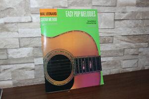 Hal Leonard Guitar Method - Easy Pop Melodies - Second Edition