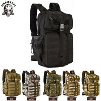 35L Molle Outdoor Military Tactical Bag Camping Hiking Trekking Backpack US