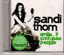 (GA837)  Sandi Thom, Smile ... It Confuses People - 2005 Sealed CD