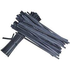 """Fyz Brothers Pl 00006000 astic Black Twist Ties, 5"""", 1000 Pcs Garden &amp Outdoor"""