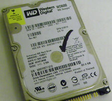 60GB Western Digital WD600VE-75HDT1 Laptop IDE Hard Drive DP/N 0C8579