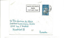 1965 France cover to Canada   atomic energy