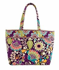 Vera Bradley Grand Tote Bag Plum Crazy 12325 137