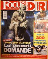 Rivista FOCUS D&R DOMANDE E RISPOSTE n.18 Inverno 2009 Le grandi domande