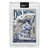 TOPPS PROJECT 2020 - DON MATTINGLY #95 -1984 Rookie by MISTER CARTOON - YANKEES