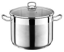 Kochtopf mit Glasdeckel Suppentopf großer Topf Eintopf auch INDUKTION 5 Größen