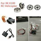 XK K100 Spare Parts Steering Gear Servo/Bearing Set/Gear Set/Receiver Board/Wire