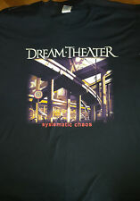 T SHIRT DREAM THEATER Chaos in motion world tour 2007/2008 xl rare collector