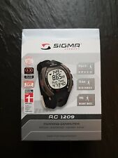 Sigma RC 1209 Running Computer Heart Rate Monitor  Sports Wrist Watch New
