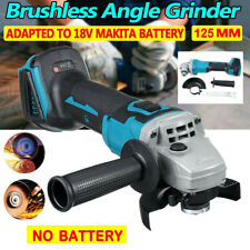 18V 125mm Brushless Cordless Angle Grinder Replacement for Makita Battery