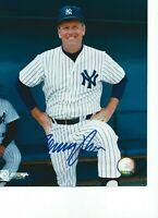 "Tommy John New York Yankees Signed 8"" x 10"" Autographed Photo"
