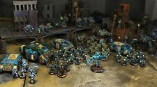 Warhammer 40000 Alpha Legion Chaos Space Marine Pro Painted All-converted Army