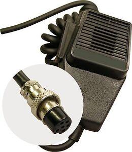 CB Radio Microphone 6 Pin Standard