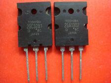 5PCS 2SA1302 + 5PCS 2SC3281 TOSHIBA PNP TRANSISTORS