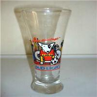 Vintage Bud Light USA 1988 beer glass basket ball spuds mackenzie photo