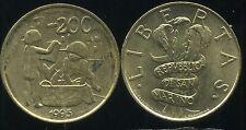 SAN MARIN   ITALY  200 lire 1995