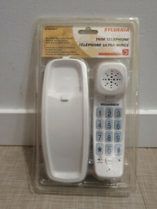 Sylvania Trimline Corded Phone White