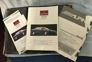 ROVER 600 SERIES HANDBOOK,PACK AKM 7145 1993 suit classic car